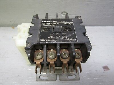 Siemens 44BF40AFAAH Contactor - Only one Half