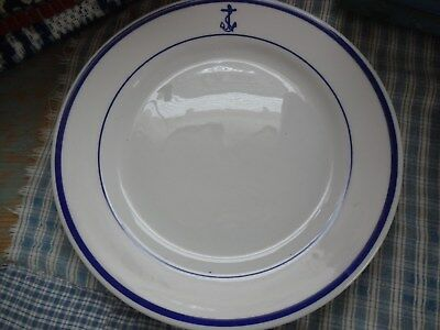 US Navy Officers Mess Sterling China LUNCH PLATE 9 1/8""