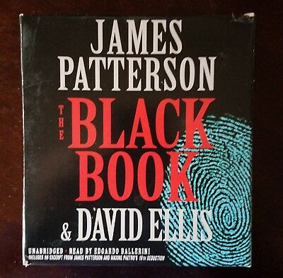 The Black Book by James Patterson and David Ellis (2017, CD, Unabridged)