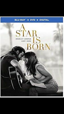 A Star Is Born(2018) BLU-RAY DVD PRE-ORDER SHIPS 2-19-19