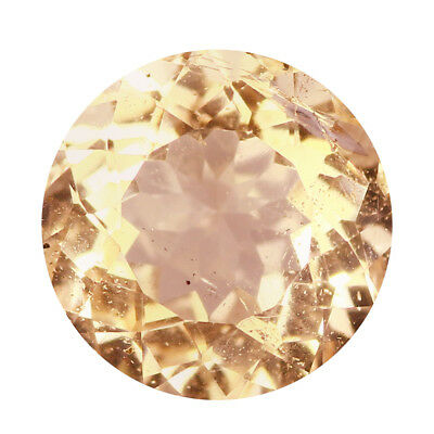 0.67Ct Outstanding Round cut 5 x 5 mm 100% Natural Pink Morganite