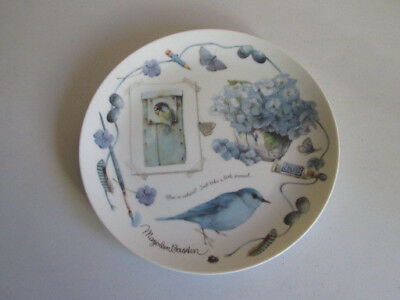 """Marjolein Bastin Colors Of Nature Collectors Plate, """"nature's Blues"""""""