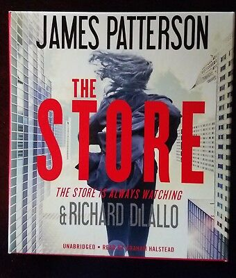 James Patterson THE STORE - Unabridged CD Audiobook 2017
