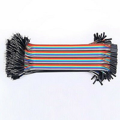 40 Pcs Dupont Jumper Wire M-M / M-F / F-F Cable Pi Pic Breadboard For Arduino MJ