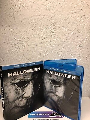 Halloween 2018 Blu Ray + Digital HD ONLY NO DVD INLCUDED! Please Read!!