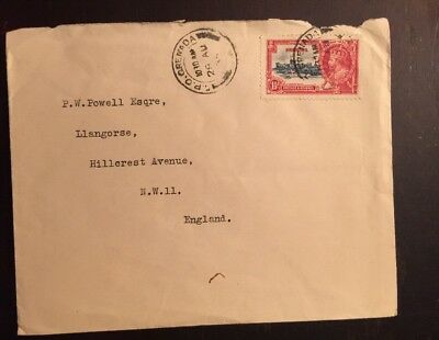1935 KGVI Silver Jubilee Cover Grenada To England