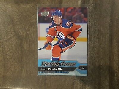 2016-17 Upper Deck Yg #225 Jesse Puljujarvi Young Guns Rookie Card