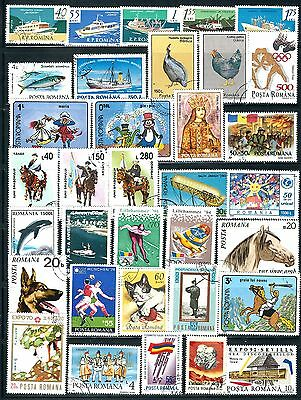 Romania - Selection of Stamps..................Br......# 8603