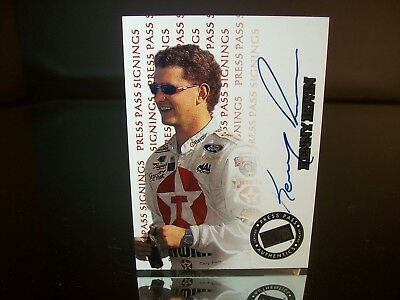 Kenny Irwin Press Pass Signings Autographed 1999 Card #No Number 356/380