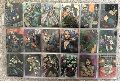 Razor Chromium - 90 Card Set - Krome Productions - 1995
