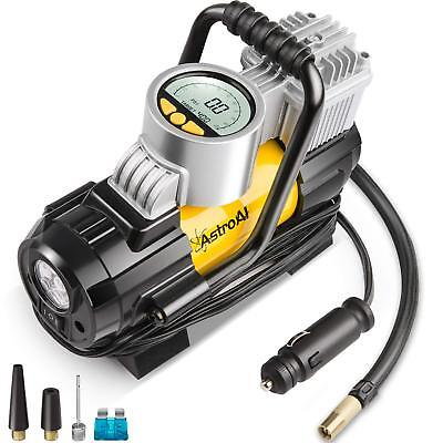 Portable Air Compressor Pump 100PSI,Digital Tire Inflator 12V DC Electric Gauge