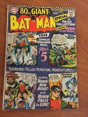Batman #185 DC Comics 1966 80 page giant GD/VG
