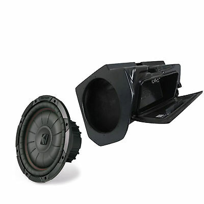 SSV Works Glove Box Subwoofer Enclosure Unloaded 14-18 Polaris RZR 1000 /& Turbo