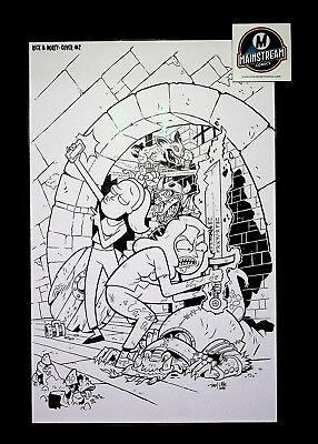 Rick & Morty vs. Dungeons & Dragons #2 - Original Cover Art by Troy Little