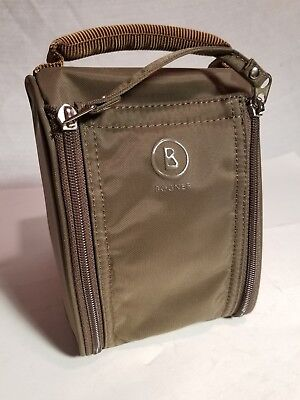 Bogner Lufthansa first class Cosmetic Amenity bag toiletry bag( with extras )