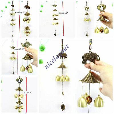 Metal Wind Chimes Bells Charm Outdoor Garden Yard Home Wall Decor Ornament New