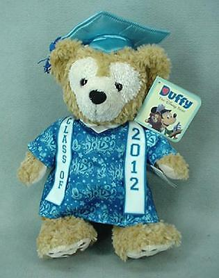 Duffy Bear Class of 2012 Graduation Disney Plush 12 Inches  NEW