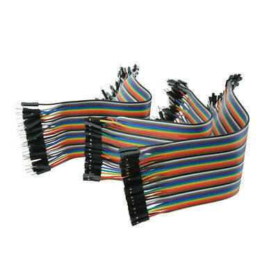 120 pcs DuPont Wire Male to Male Male to Female Female to Female Jumper Cable
