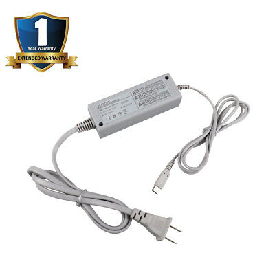 AC Adapter Power Supply Cable Wall Charger For Nintendo Wii U Gamepad Controller