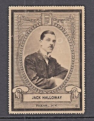 JACK HALLOWAY - EARLY AMERICIAN MOVIE STARS - by PAKAS. NY - CINDERELLAS