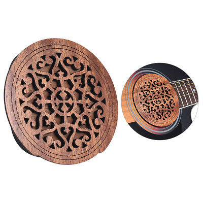 Guitar Feedback Buster Soundhole Cover Sound Buffer Protector Free Ship Hot B4K5