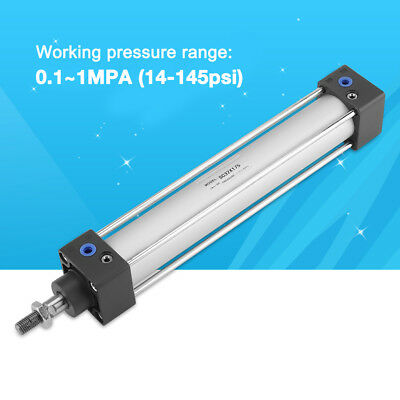 32mm 200mm MAL Single Rod Double Acting Mini Pneumatic Air Cylinder Durable AU