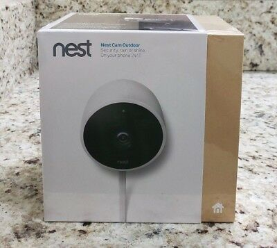NEST Cam Outdoor Smart Security Camera Model NC2100ES - Sealed NEW
