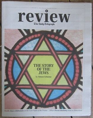 Simon Schama – the story of the Jews - Daily Telegraph Review – 31 August 2013