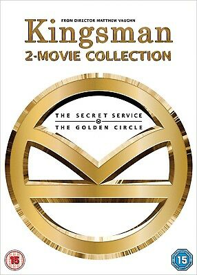 Kingsman 2-Movie Collection Dvd