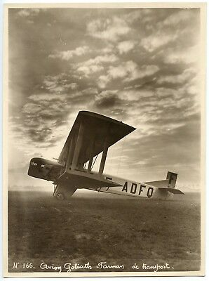Aire Force / Photo Aviation / Avion Goliath Farman De Transport