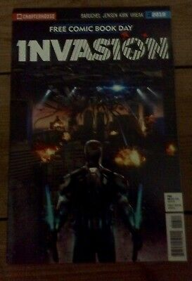 Invasion Chapterhouse comics Free Comic Book Day special 2018
