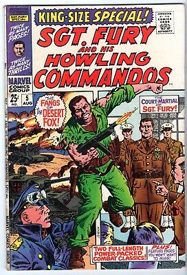 Sgt. Fury King-Size Special #5, Fine - Very Fine Condition
