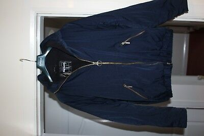 Men's Barbour Weathershell 100% Genuine Full Zip & Lined Winter Warm Jacket Uk