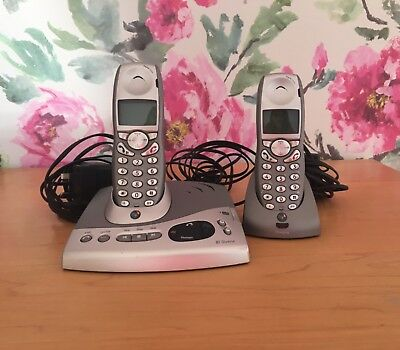 BT Diverse 6250 cordless phones with answer machine used condition