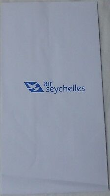 AIR SEYCHELLES Air Sickness Bag Spuckbeutel Kotztüte Airlines Seychellen