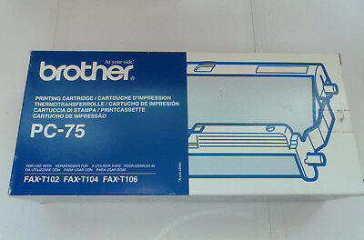 Ink Cartridge for Brother PC-75 Plain Paper T102 T104 T106 Fax machine Printing