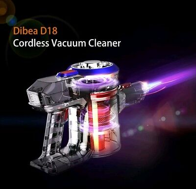Dibea D18 2 In 1 Household  Lightweight Cordless Handheld Stick Vacuum Cleaner