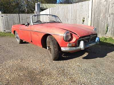 MGB Roadster 1963 Pull Handle Barn Find