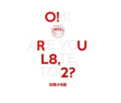 "K-POP BTS Mini Album ""O!RUL8,2"" Bantan Boys Official - 1 Photobook + 1 CD"