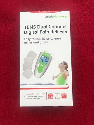 Lloyds Pharmacy TENS Dual Channel Digital Pain Reliever -