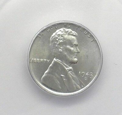 1943-D Lincoln Wheat Cent  Icg Ms67 Price Guide Valued At $160