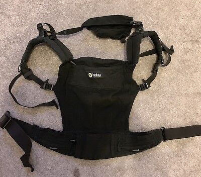 Boba 3G Baby Carrier - Black - 7lb - 45lb - With Box And Instructions