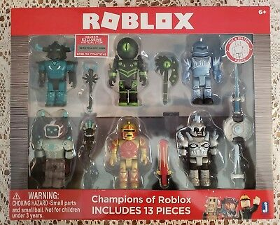 Roblox Champions Of Roblox 6 Figure Pack - roblox champions
