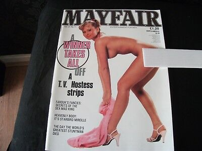 1985 MAYFAIR MAGAZINE VOL 21  No 11  WITH  DAVINA HILL  EXCELLENT CONDITION