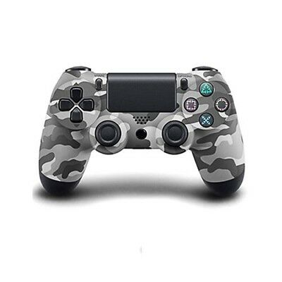 Manette PS4 Sans Fil Double Shock Camouflage Gris