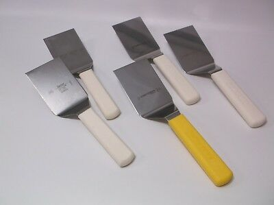Dexter USA Bundle (5) 4X3 Pro Spatulas Turners Flippers Poly Hndles Factory 2nd