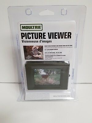 "Moultrie 2.8"" Lcd Portable Sd Card Game Camera Picture Viewer"