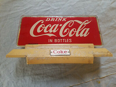 Vintage Coca Cola sign Price Brothers