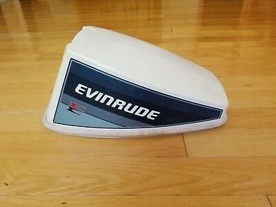 1985 Evinrude 15 hp Outboard Motor Cowling, Hood, Cover, Lid Johnson