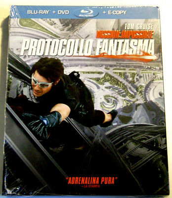 Blu-ray Mission Impossible Protocol ghost with Tom Cruise New
